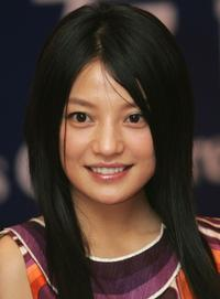 Zhao Wei at the press conference of