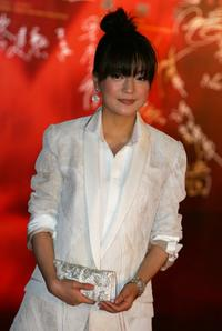 Zhao Wei at the 27th Hong Kong Film Awards.