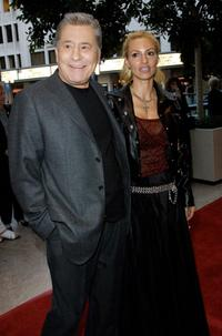 James Farentino and Stella at the opening night of the play