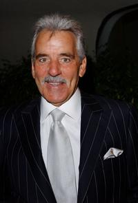 Dennis Farina at the Tony Martin's 90th birthday party.