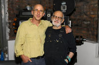 Director David Weissman and Larry Kramer at the New York premiere of