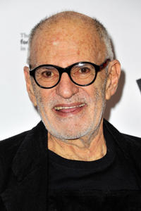 Larry Kramer at the Broadway opening night of