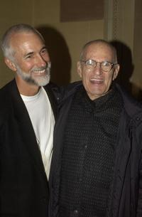 Larry Kramer and Guest at the after party of the opening night of