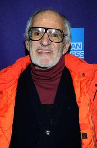 Larry Kramer at the premiere of