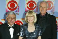 Jamie Farr, Loretta Swit and Mike Farrell at the