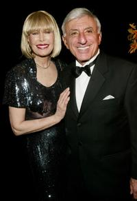 Jamie Farr and Loretta Swit at the Jamie Farr attend the cocktail party for the