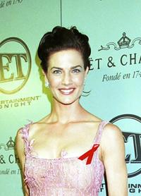 Terry Farrell at the Emmy after party.