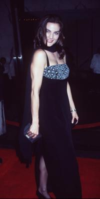 Terry Farrell at the opening of