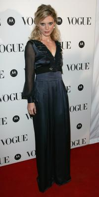 Emilia Fox at the Vogues 90th birthday party.