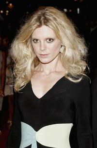 Emilia Fox at the premiere of