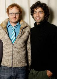 Ari Gold and Adrian Grenier at the Sundance Film Festival.