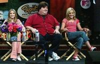 Emma Roberts, Dan Schneider and Jamie Lynn Spears at the TCA Tour Cable.