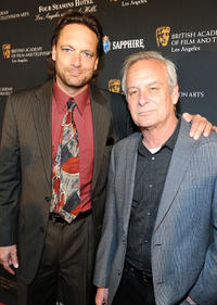 Paul Tamasy and Eric Johnson at the BAFTA Los Angeles Awards Season Tea.