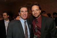 Donald Haber and Paul Tamasy at the BAFTA Los Angeles Awards Season Tea.