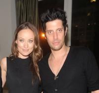 Olivia Wilde and Shawn Andrews at the after party of the New York premiere of