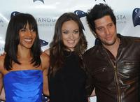 Megalyn Euchikunwoke, Olivia Wilde and Shawn Andrews at the premiere of