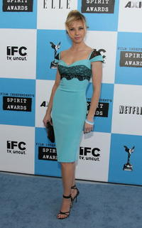 Linda Cardellini at the 22nd Annual Film Independent Spirit Awards 2007.