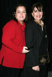 Rosie O'Donnell and Linda Dano at the opening night of