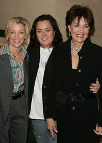Kelli O'Donnell, Rosie O'Donnell and Linda Dano at the premiere of