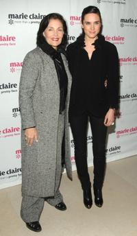 Linda Dano and Jennifer Connelly at the screening of