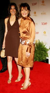 Alicia Coppola and Linda Dano at the annual Daytime Emmy nominee party.