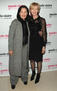 Linda Dano and Marie Claire at the screening of
