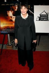 Linda Dano at the premiere of