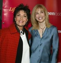 Linda Dano and Nancy Glass at the