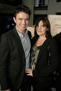 Matt Day and Kirsty Thompson at the Australian premiere of