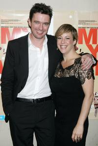 Matt Day and Sacha Horler at the Melbourne premiere of