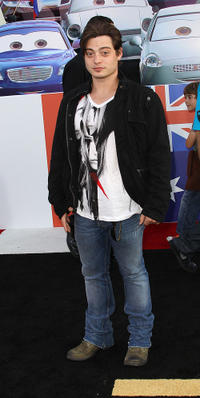 Andrew Lawrence at the California premiere of