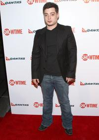 Andrew Lawrence at the premiere of