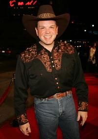 Ron Lester at the premiere of