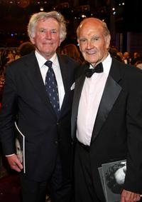 Gary Hart and George McGovern at the 36th AFI Life Achievement Award tribute to Warren Beatty.
