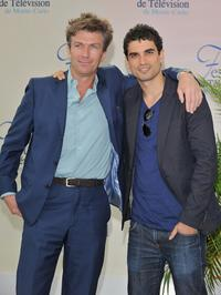 Philippe Caroit and Stephane Metzger at the 2008 Monte Carlo Television Festival.