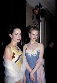 Frances O'Connor and Nicole kidman at the AFI Awards.