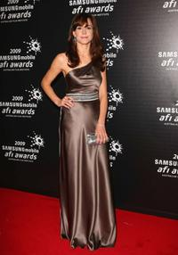 Frances O'Connor at the 2009 Samsung Mobile AFI Awards.