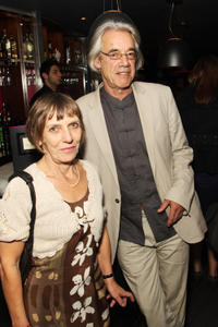 Roger Lloyd-Pack and Guest at the after party of the world Premiere of
