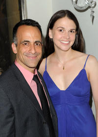 David Pittu and Sutton Foster at the opening night of