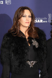 Karole Rocher at the 37th Cesar Film Awards in Paris.