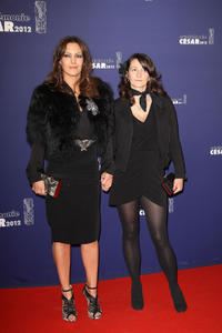 Karole Rocher and Guest at the 37th Cesar Film Awards in Paris.