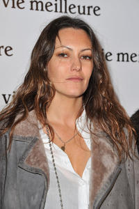 Karole Rocher at the Paris premiere of