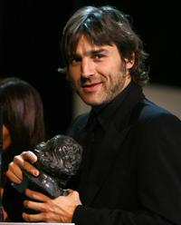 Alberto San Juan at the Goya awards ceremony.