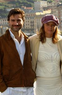 Alberto San Juan and Emma Suarez at the photocall of