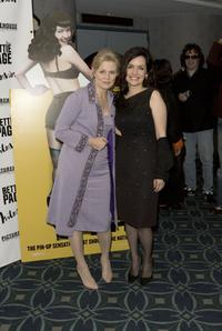 Mary Harron and Guinevere Turner at the premiere of
