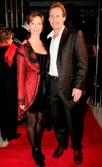 Kerry Armstrong and Greg Lucas at the world premiere of