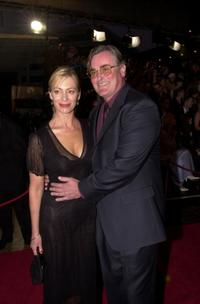Kerry Armstrong and John Howard at the TV Week Logies 2000.