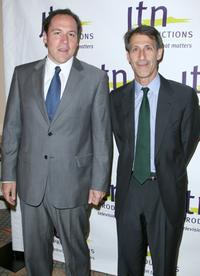 Jon Favreau and Michael Lynton at the JTN Productions' vision award.