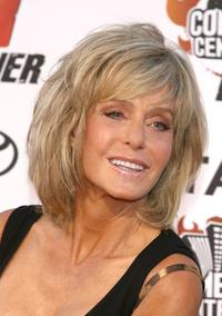 Farrah Fawcett at the comedy central roast of William Shatner.