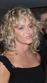 Farrah Fawcett at the screening of